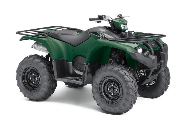 2018 Kodiak 450 EPS Hunter Green 002